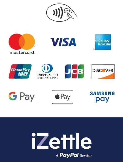 iZettle maksutavat logo